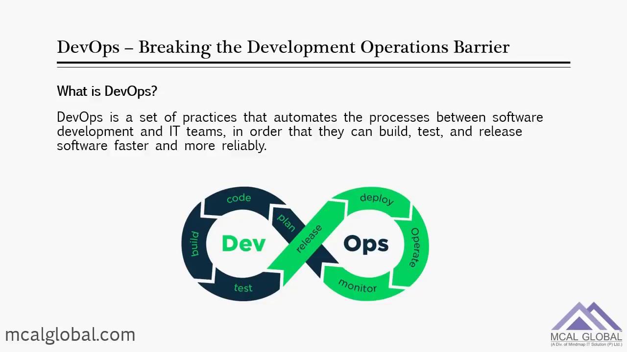 DevOps – New | MCAL Global Pune - Specialised Training | Focused IT