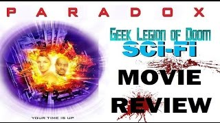 PARADOX ( 2016 Zoë Bell ) Time Travel Sci-Fi Movie Review