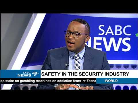 Safety in the security industry: Dennis George