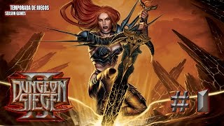 Dungeon Siege 2 parte 1 (gameplay, Let´s play, Multijugador, Español)