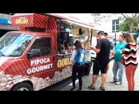 Conheça Um Food Truck De Pipocas Gourmet