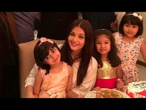 Aaradhya Bachchan strikes perfect pose with parents Mp3