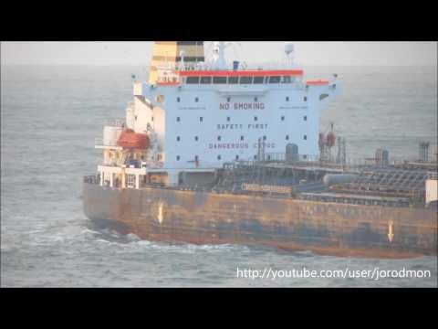Oil/Chemical Tanker RAVNANGER inbound A Coruña
