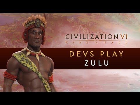 Civilization VI: Rise and Fall - Devs Play the Zulu
