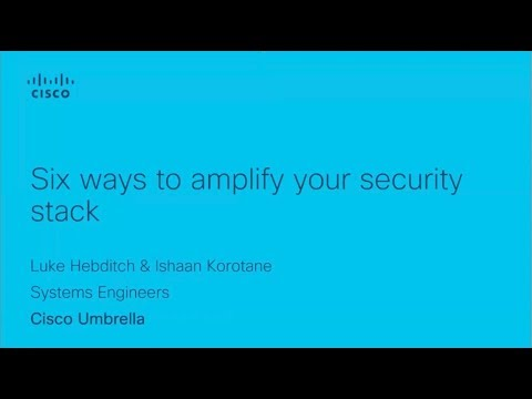 Six ways to amplify your security stack