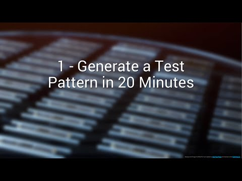1 Create A Semiconductor ATE Pattern In 20 Minutes