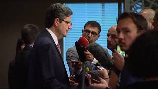 François Delattre (France) on the situation in the Middle East - Press Encounter (14 July 2017) thumbnail