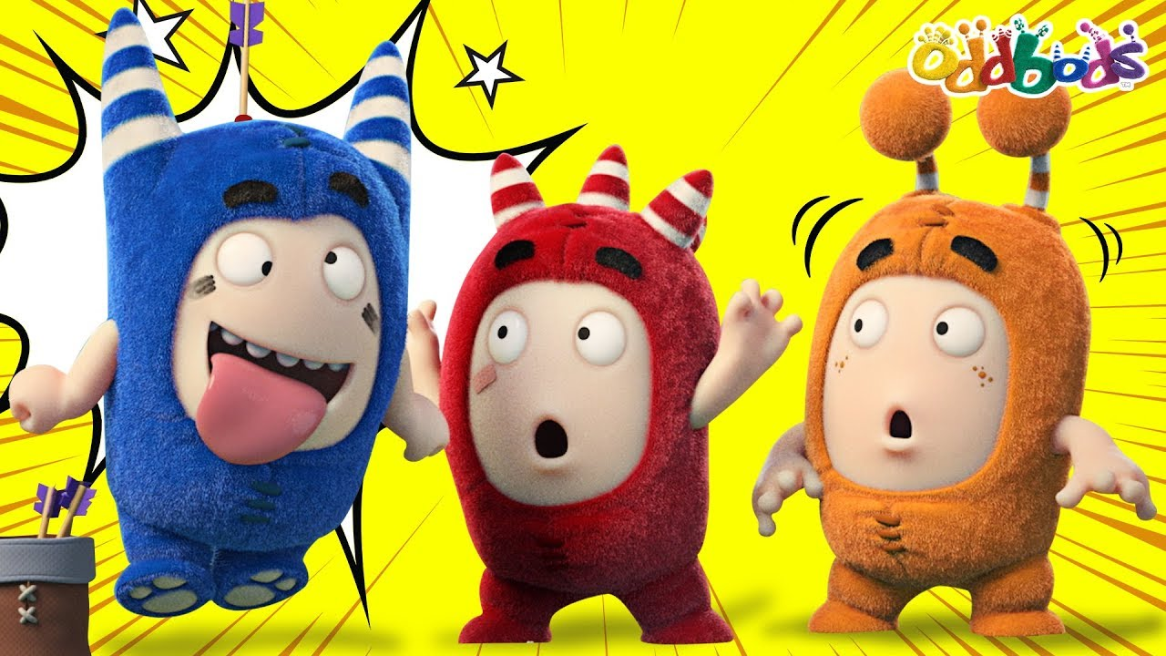 Oddbods | TARGET PRACTICE | NEW | Funny Cartoons For Children