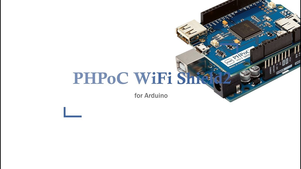 PHPoC, Programmable IoT Solution - PHPoC WiFi Shield for