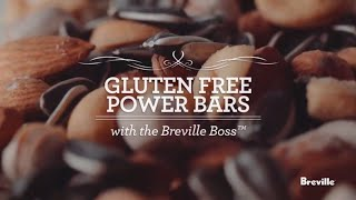 Gluten Free Power Bars Recipe Powered By The Boss Blender From Breville