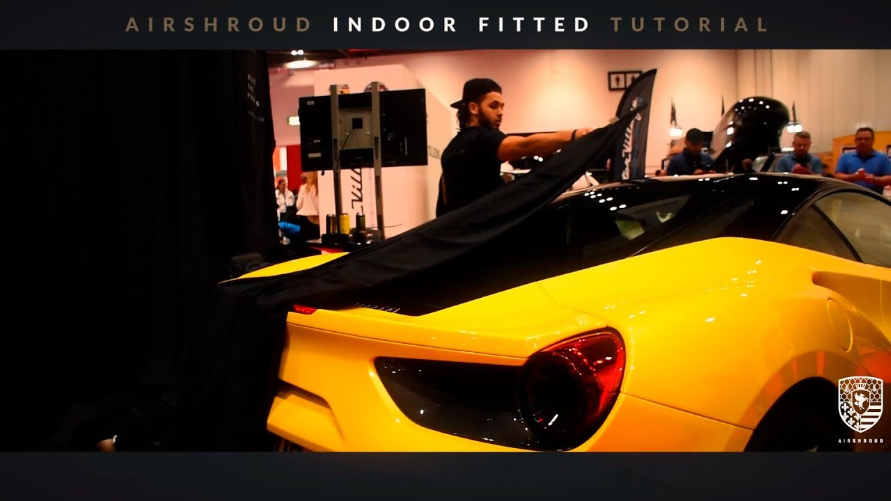 AirShroud Remote Control Specialised Reveal Indoor Car Covers