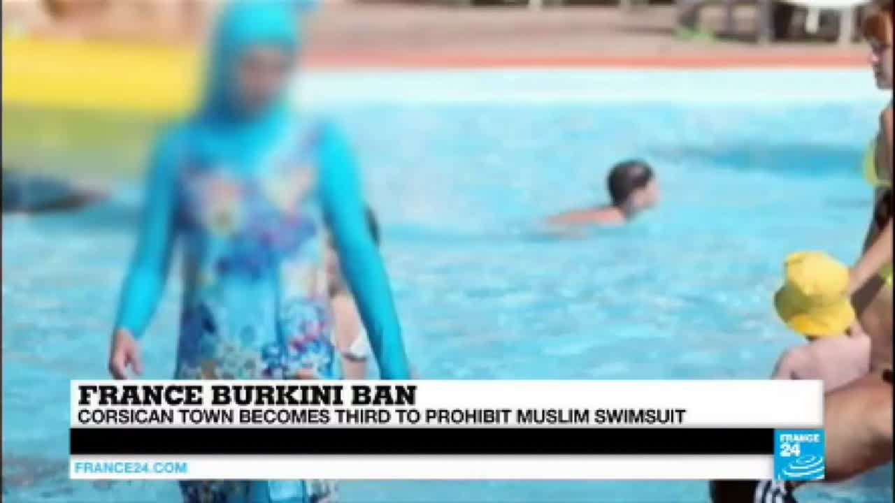 france burkini ban tensions are high in corsican town after it