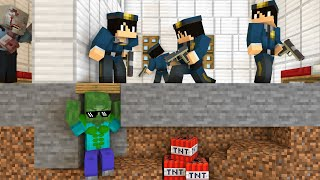 Monster School :  BREWING PRISON ESCAPE CHALLENGE PART 2  - Minecraft Animation