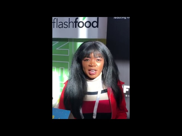 Prisca Norissa, Flashfood Inc   NRF 2020 Vision Show
