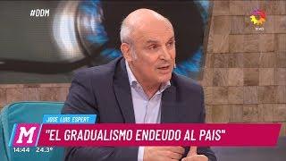 """José Luis Espert en """"El diario de Mariana"""" con M.Fabbiani, por El Trece el 17 de abril de 2019"""