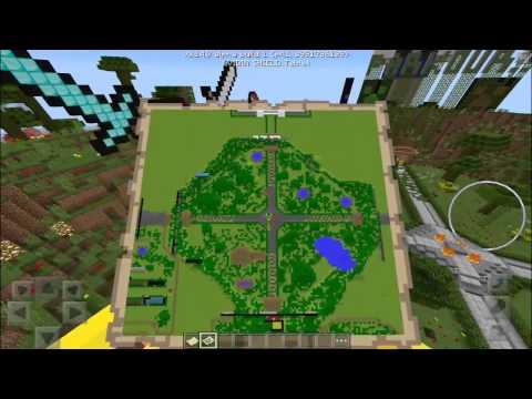Minecraft PE 0.15.6 Como Usar Y Hacer Un Mapa - Pared De Mapas - Pocket Edition