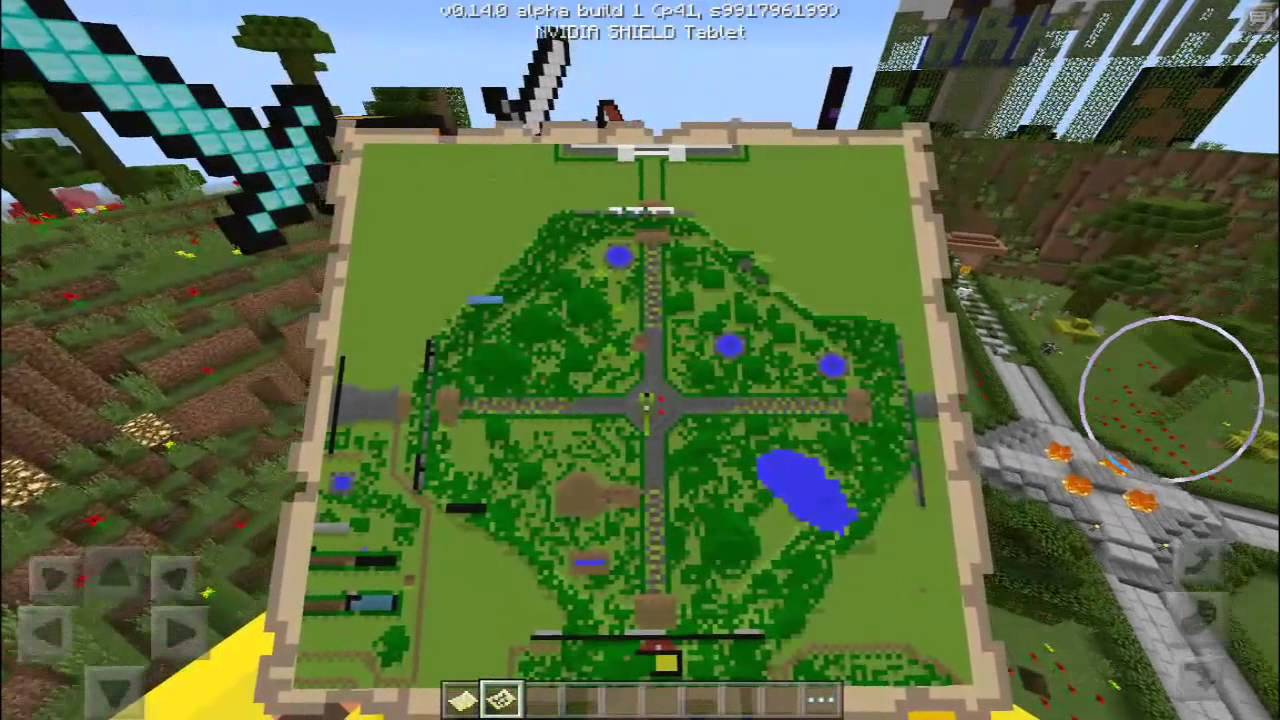 Pokemon X and Y in Minecraft Map! 2:1 SCALE REPLICA OF THE ...