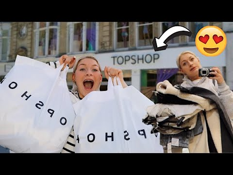 TOPSHOP SHOPPING SPREE + TRY ON HAUL | AD