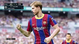This video is the gameplay of sevilla vs barcelona 19 june 2020 prediction if you want to support on patreon https://www.patreon.com/pesme suggested videos 1...