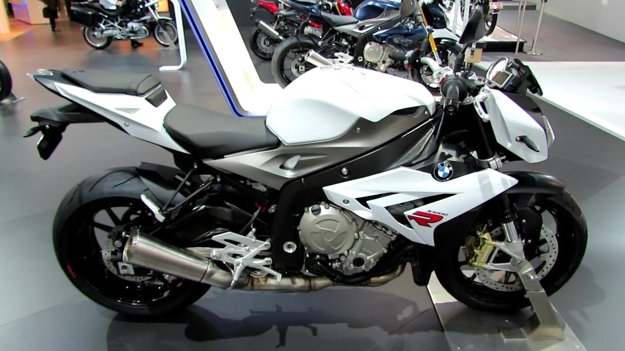 2014 bmw s1000r white colour walkaround debut at 2013 eicma milano motorcycle exhibition. Black Bedroom Furniture Sets. Home Design Ideas