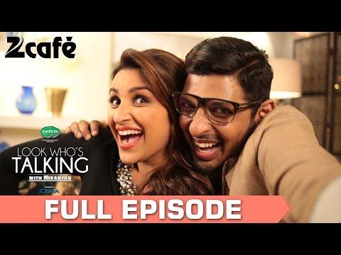 Look Whos Talking with Niranjan Iyengar  Parineeti Chopra  Full Episode  Zee Cafe