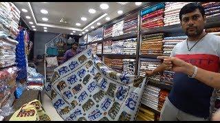 15. Шопинг в Джайпуре, покрывало со слониками, а ценаааа!!! Хочу-хочу! Раджастан. Индия.