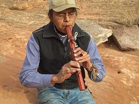 Navajo Flute Maker- Tuba City, AZ