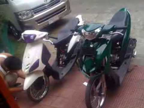 Yamaha Mio Replica By Team West Jons Design Doovi - Mio decalsmiomodified by boyong luzano apalit pampanga youtube