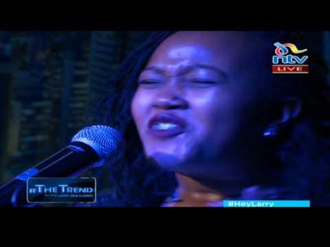 Gospel artist Alice Kimanzi performs 'Let praises rise' #theTrend