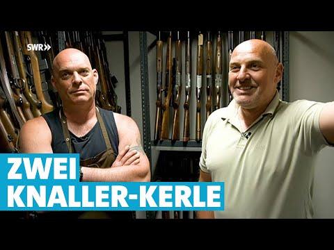 Die Knaller-Kerle: Zwei Waffen-Brüder zum Schießen   Mensch Leute   SWR Fernsehen lz