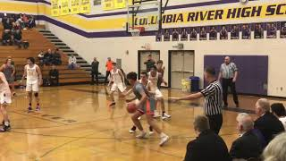 Highlights of Columbia River's 56-43 win over Washougal