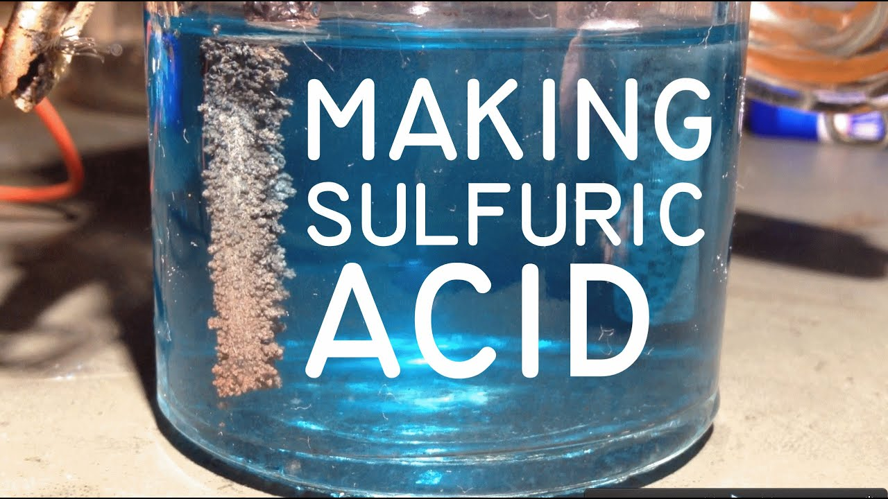 Electrolysis of copper sulphate for making sulphuric acid youtube gamestrikefo Choice Image