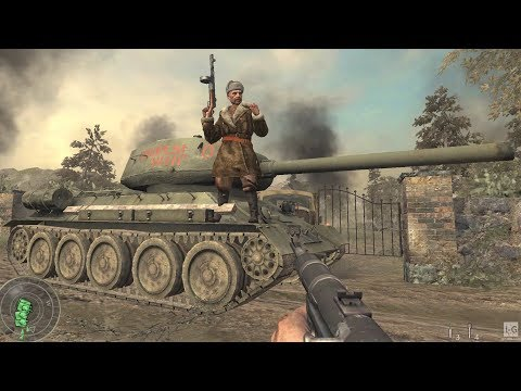 WW2 - Soviet Army Getting Close to Berlin - Battle of the Seelow Heights - Call of Duty World at War