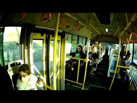 Yerevan, 01.11.17, Video-1, Tnits Avtobusov Shrjanain.