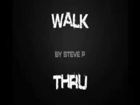 Walk Thru title design for Steve P
