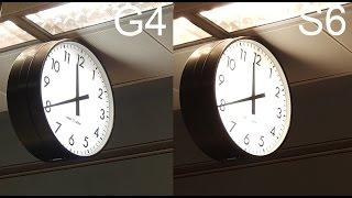Samsung Galaxy S6 vs LG G4 kamera incelemesi