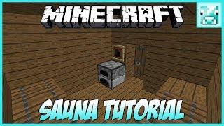 Minecraft: Steamy SAUNA Tutorial