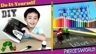 Back To School Supplies For Kids - DIY - Pierce'sWorld