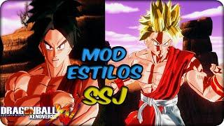 Dragon Ball Xenoverse:Estilos de pelo Super saiyan [MOD]