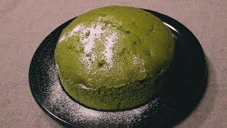 フライパンで簡単!抹茶と黒豆の蒸しケーキ | Japanese tea and black beans cake | kurashiru [クラシル] thumbnail