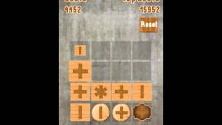 Game Play: Combine Wood 2048