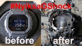 Nyiksa G-Shock Ampe Ancur!!