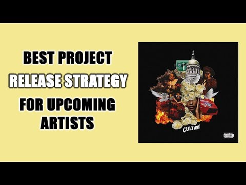 Best Project Release Strategy For New Artists To Prevent Failing