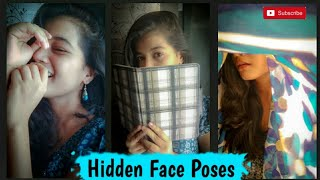 Different Techniques Of Clicking 📷 ' Hidden Face Pictures ❤ Pose Ideas Samruddhi Shelar ❤