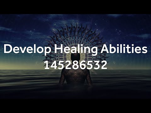 Grabovoi Numbers - Develop Healing Abilities - 145286532 (with activation!)