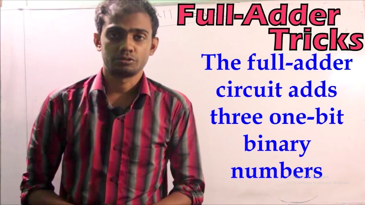 Full Adder A To Z With Easy Tricks Hsc Ict Logic Diagram Bangla Tutorial Youtube