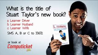 Stuart Taylor - Learner Husband Book Tour - Durban, PE & EL Promo