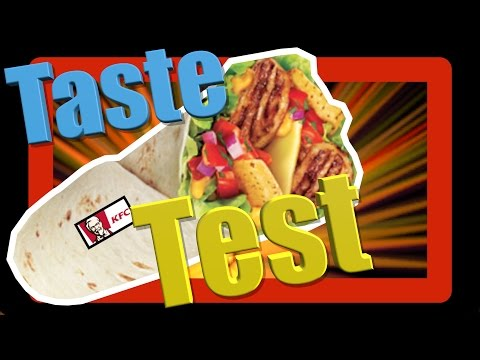 KFC Mex Fresh Twister Taste Test