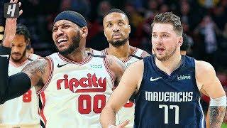 Dallas Mavericks vs Portland Trail Blazers - Full Highlights   January 23, 2020