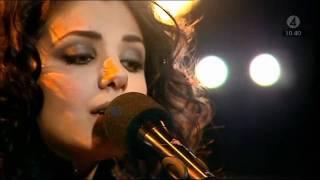 Katie Melua - Nine Million Bicycles (Nyhetsmorgon 2010)